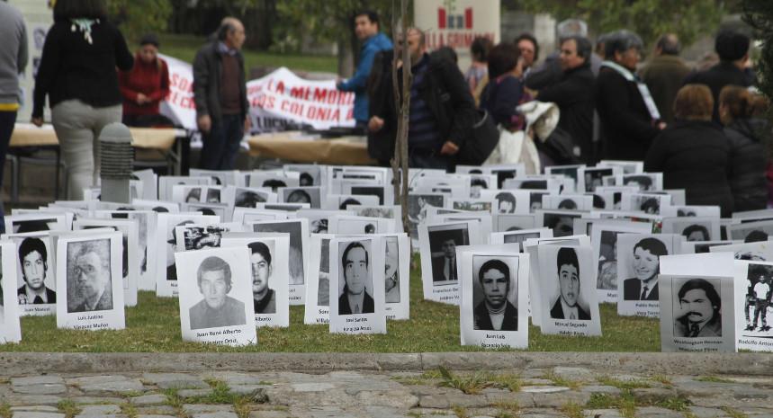 Día Internacional de las Víctimas de Desapariciones Forzadas en Villa Grimaldi