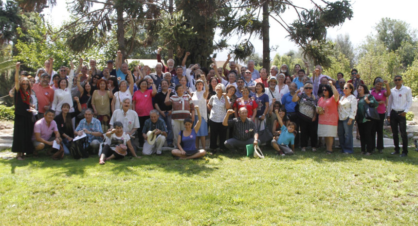 """Sobrevivientes de Villa Grimaldi: """"Seguimos luchando, seguimos cantando"""""""
