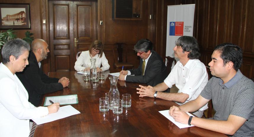 Villa Grimaldi se reúne con ministra de Bienes Nacionales