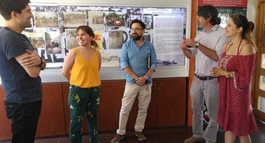 Avances en la relación institucional entre el GAM y Villa Grimaldi