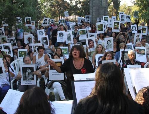 """Día Internacional de la Mujer en Villa Grimaldi: Todavía cantamos y exigimos nos digan donde están"""""""