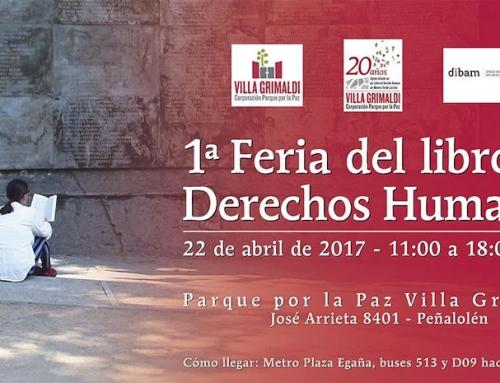 Primera Feria del Libro de Derechos Humanos en Villa Grimaldi
