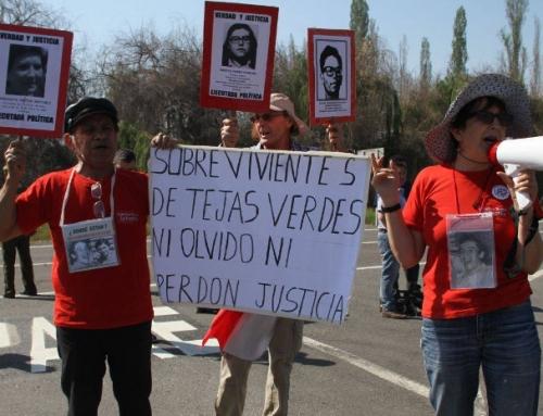 Condecoración a Regimiento de Tejas Verdes ofende a ex prisioneros y ex prisioneras torturadas en sus dependencias