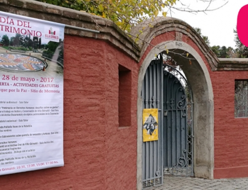 28 de Mayo: Día del Patrimonio Cultural en Villa Grimaldi