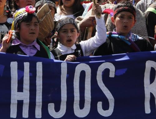 Repudian violencia policial en contra de escuela de Temuicuicui