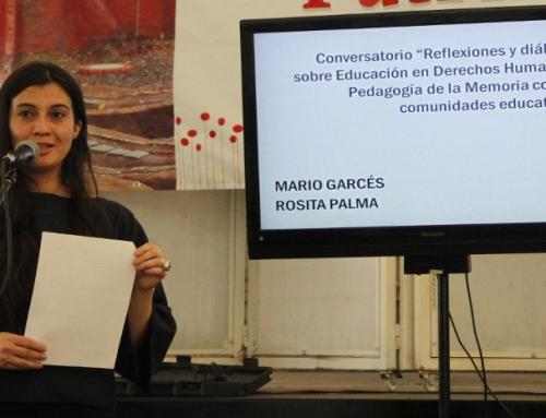 """Karen Bascuñán, encargada del Área Educación de Villa Grimaldi: """"Estamos fortaleciendo la educación de DD.HH. y la pedagogía de un sitio de memoria"""""""