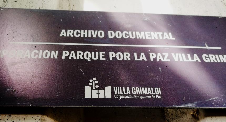 Concurso para profesional encargada/o de Archivo Documental de Villa Grimaldi