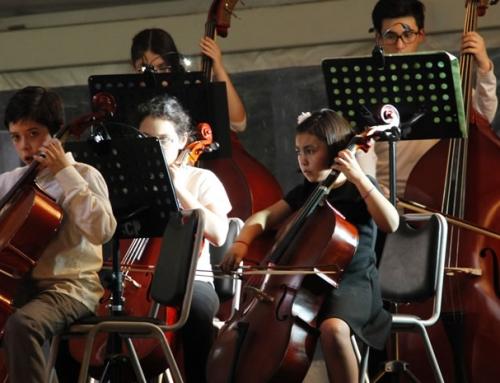 Masivo concierto de orquestas de Peñalolén en Villa Grimaldi: Música para la paz y los DD.HH.