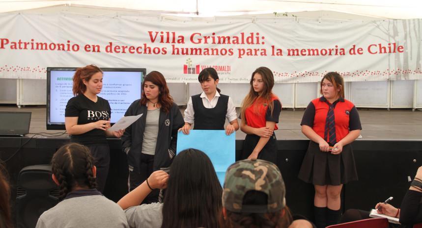 Llamado a concurso para profesional del Área Educación Parque por la Paz Villa Grimaldi, Sitio de Memoria