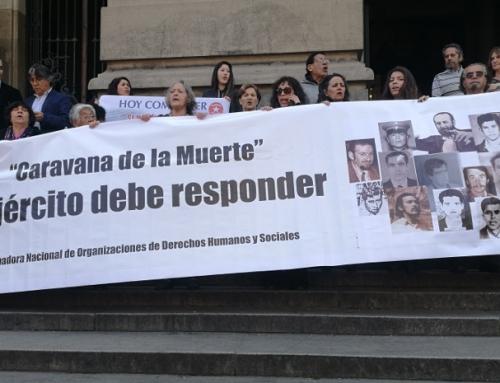 A 44 años de la Caravana de la Muerte, agrupaciones de DD.HH. recordaron a víctimas