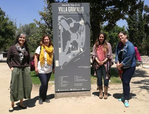 Representantes del ex Centro Clandestino de Detención, Tortura, y Exterminio, Olimpo, visitaron Villa Grimaldi