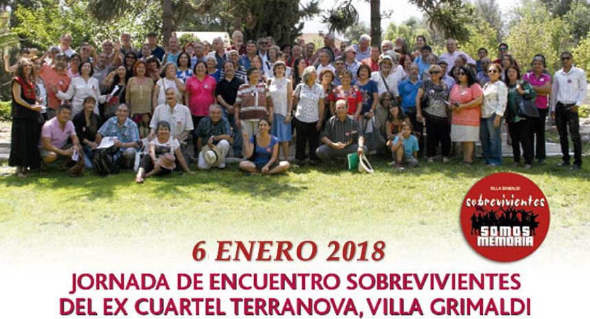 Convocatoria a Encuentro de Sobrevivientes del ex cuartel Terranova – Villa Grimaldi