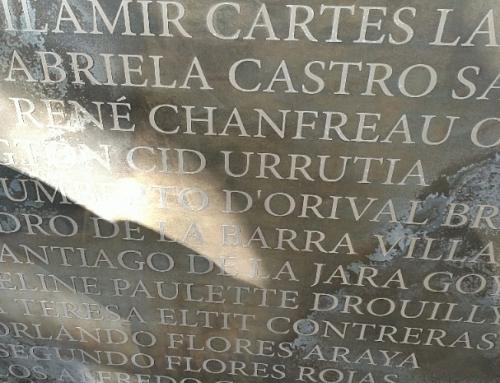 Restauración del Muro de los Nombres actualiza información de detenidos desaparecidos y ejecutados que estuvieron en Villa Grimaldi