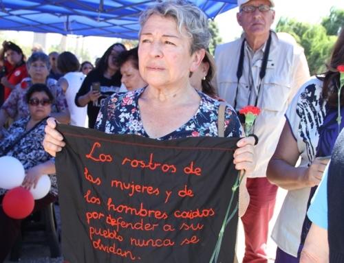 Villa Grimaldi participó en distintos actos de memoria y derechos humanos