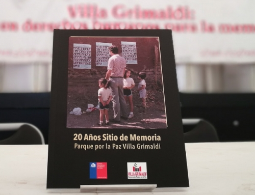 Revisa y descarga el libro sobre los 20 años del Parque por la Paz Villa Grimaldi