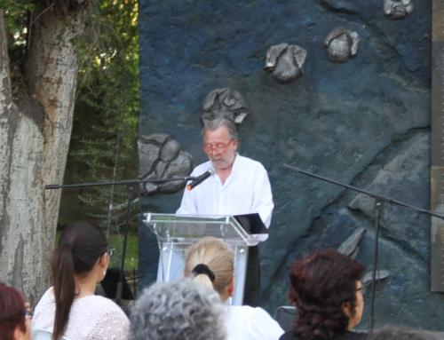 Emotiva re-inauguración de Muro de los Nombres marca conmemoración del Día Internacional de los DD.HH en Villa Grimaldi