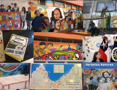 Murales, cartografía y fanzines fueron los resultados finales del proyecto Estudiantes de Valparaíso como embajadoras y embajadores de memoria