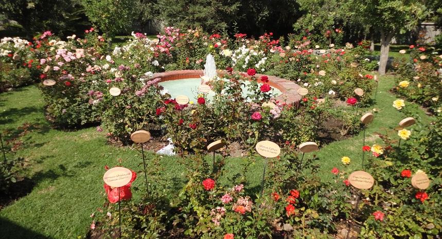 Villa Grimaldi - Jardín de las Rosas