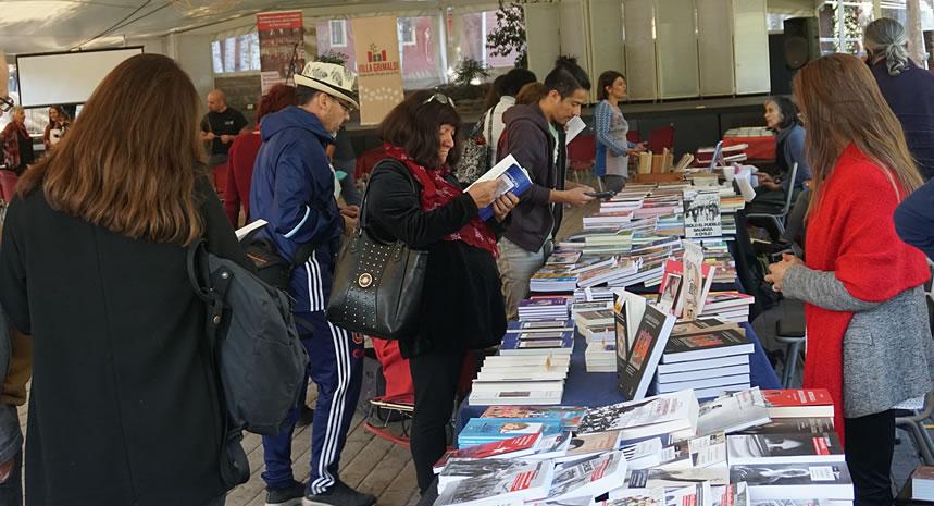 Con diversas actividades Villa Grimaldi realizó segunda versión de la Feria del Libro de Derechos Humanos y Memoria