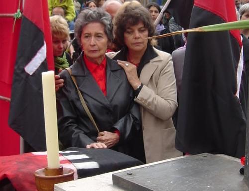Villa Grimaldi lamenta fallecimiento de Luz Moya Díaz, madre de Lumi Videla