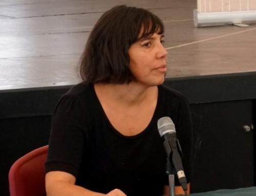 """Claudia del Fierro, artista visual de exposición Complejo Maderero y Forestal Panguipulli: """"La herida de la dictadura es algo muy presente en Chile, y define nuestro quehacer como creadores"""""""
