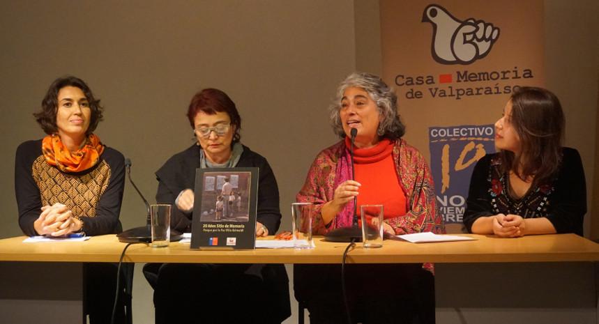 Reconociendo el valor de sus contenidos fue presentado en Valparaíso libro sobre los 20 años de Villa Grimaldi como sitio de memoria