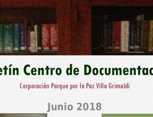 Centro de Documentación de Villa Grimaldi publicó boletín informativo de junio de 2018