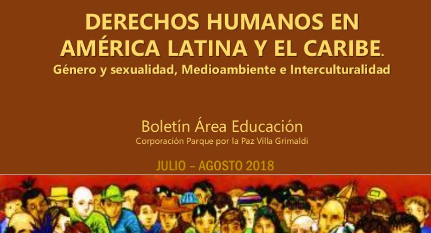 Área Educación de Villa Grimaldi publicó boletín Julio – Agosto 2018