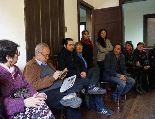 Equipo de Villa Grimaldi realizó visita a sitio de memoria Ex Clínica Santa Lucía
