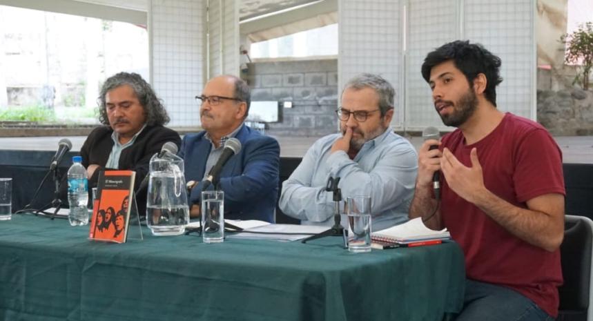 Novela 'El miméografo' de Osvaldo Salas, presentada en Villa Grimaldi, aborda atmósfera social de Chile entre 1970 y 1973