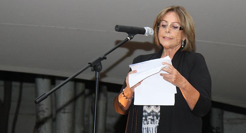 Sitio de memoria Villa Grimaldi felicita a socia Marcia Scantlebury por premio Lenka Franulic 2018