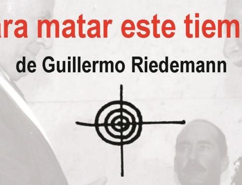 Libro 'Para matar este tiempo', del poeta Guillermo Riedemann, se presentará en Villa Grimaldi