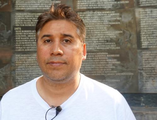 """Luis Emilio Recabarren: """"Nuestras abuelas se nos están muriendo y la impunidad sigue vigente. Por eso nuestros testimonios son tan importantes"""""""