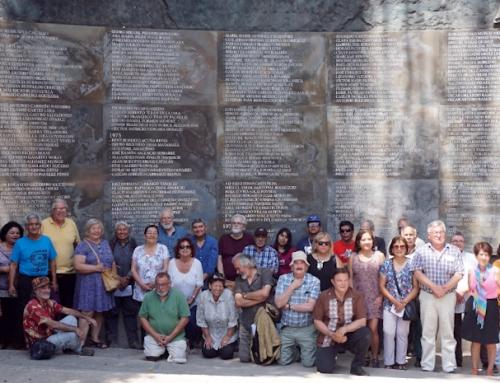 Invitación a sobrevivientes y familiares de la comunidad del sitio de memoria Parque por la Paz Villa Grimaldi a taller participativo