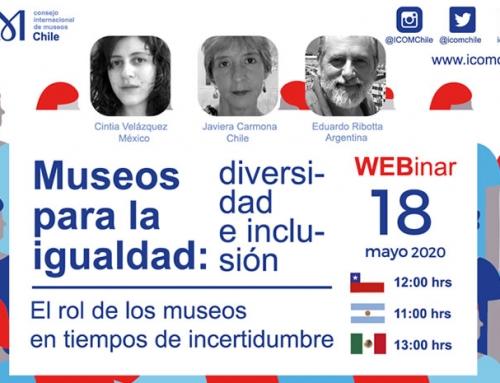 Museos para la igualdad: diversidad e inclusión social. Día internacional de los museos #DIM2020