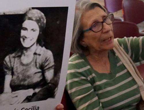 Marisa Matamala, sobreviviente de Villa Grimaldi: La revuelta social nos demostró brutalmente que a lo que habíamos dicho nunca más, sigue presente
