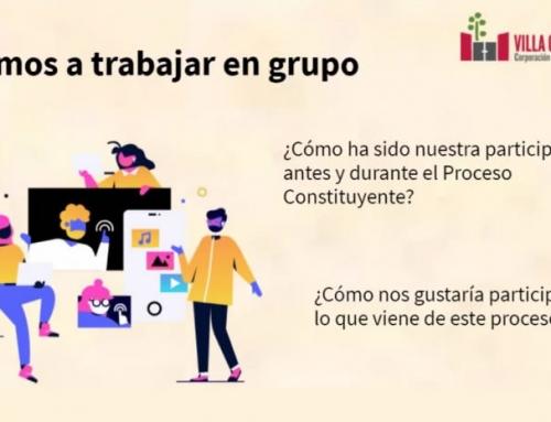 Se iniciaron talleres en línea Memorias y Derechos Humanos para el Proceso Constituyente