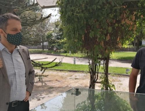 Diplomático argentino visita Villa Grimaldi