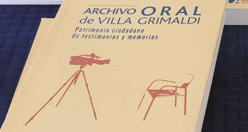 Nuevo libro brinda una mirada interdisciplinar sobre el Archivo Oral de Villa Grimaldi