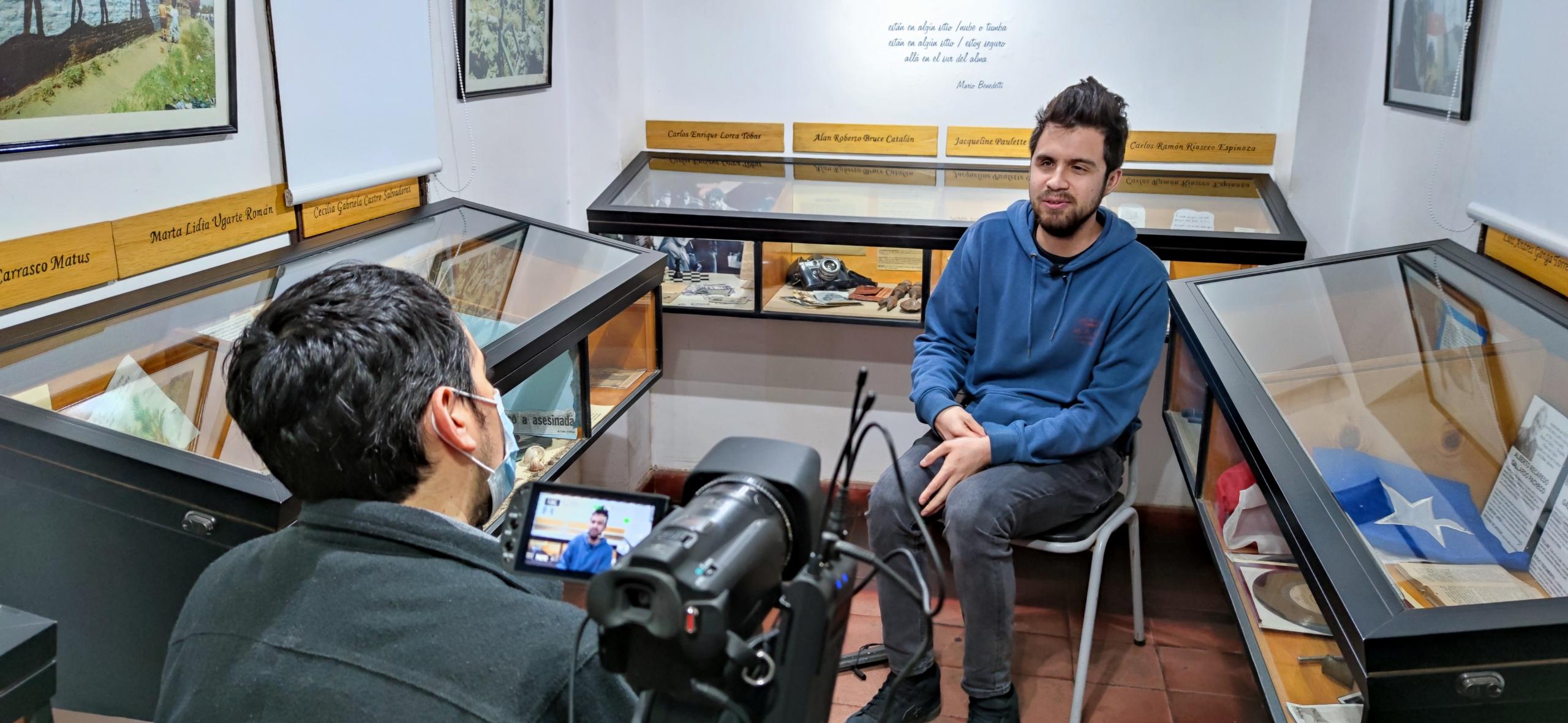 Con el testimonio de Gustavo Gatica comienza nueva colección del Archivo Oral de Villa Grimaldi respecto al estallido social