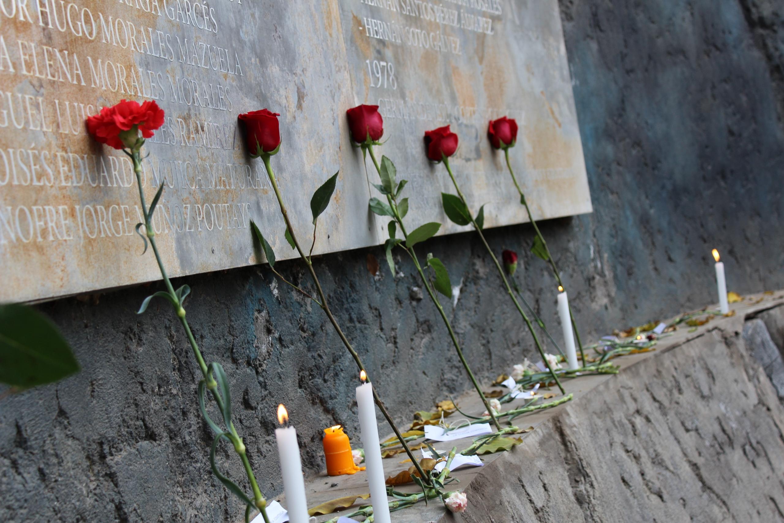 Conmemoración: 48 años del golpe de Estado en Villa Grimaldi