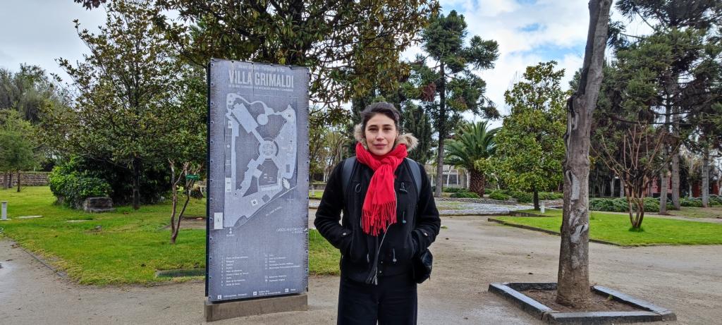 Maria Paz Grandjean Villa Grimaldi