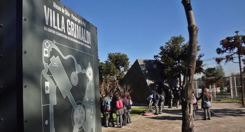 Conversación: Visitar Villa Grimaldi, conocimientos, impactos y motivaciones