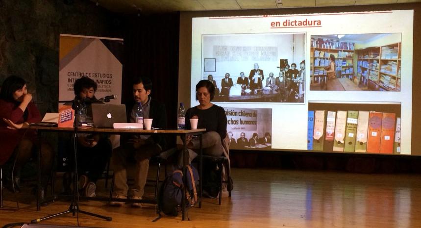Encargado del Archivo Oral de Villa Grimaldi presentó en Valparaíso los aspectos políticos que el archivo ha abordado desde su formación