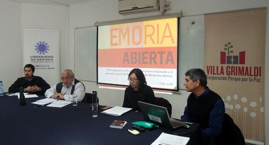 Encuentro 'Memorias más allá de lo nacional' valoró aporte de archivos orales para la defensa de los derechos humanos