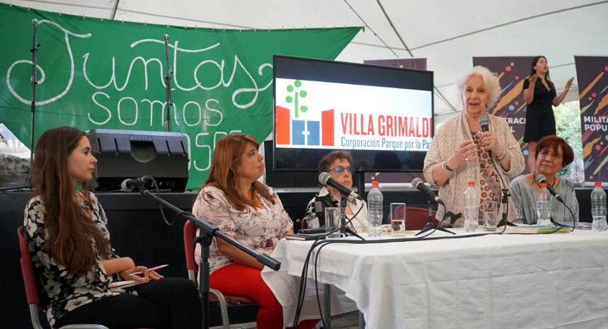 Abuelas de Plaza de Mayo, parlamentarias y el INDH condenan ataque a sitio de memoria Parque por la Paz Villa Grimaldi