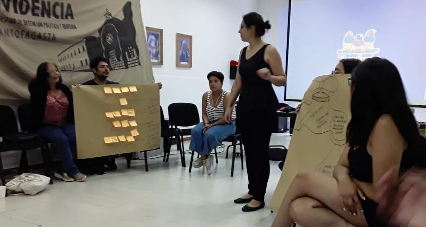 Villa Grimaldi presentó su trabajo de educación en sitio de memoria Providencia de Antofagasta