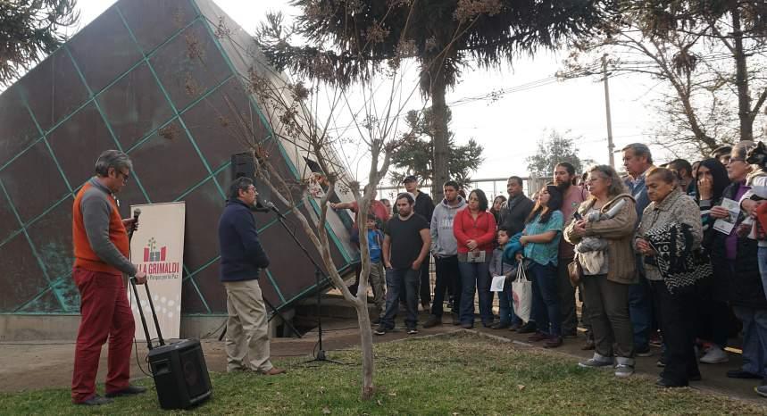 Sitio de memoria Parque por la Paz Villa Grimaldi será parte del Día del Patrimonio 2019