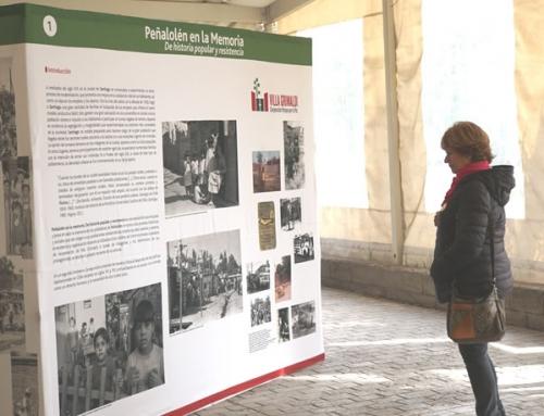 'Peñalolén en la memoria' una exposición que refuerza lucha por la vivienda digna y la resistencia popular
