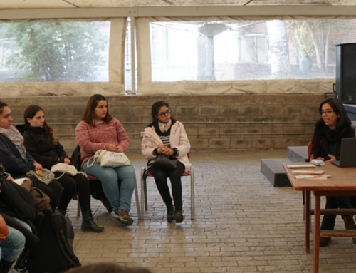 Estudiantes universitarios visitaron Villa Grimaldi y abordaron el rol de los archivos sobre violaciones a los DD.HH. entre 1973 y 2013